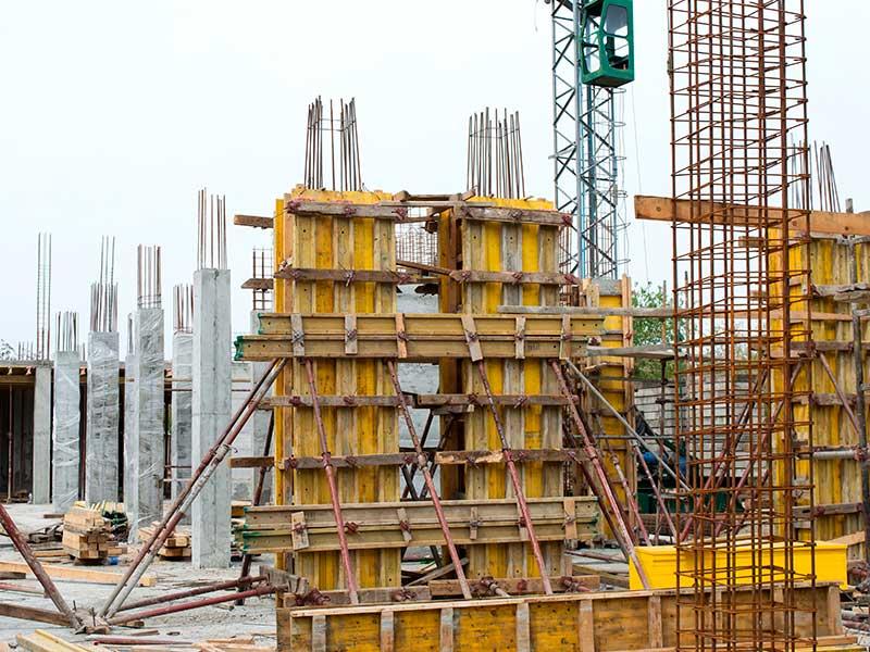Ferralla para la edificación y obra residencial